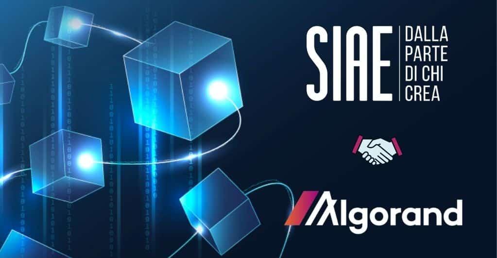 Algorand to Manage SIAE Author Rights on Blockchain