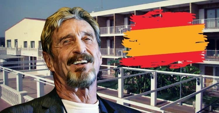 John McAfee's Secret Hideout Discovered to Be in Spain